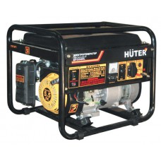 Huter DY3000L Бензиновый генератор (2,5 кВт, ручной стартер)