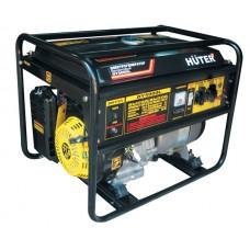 Huter DY5000L Бензиновый генератор (4 кВт, ручной стартер)