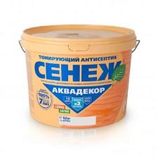 Антисептик Сенеж Аквадекор 9 кг иней 101 X-2 новая формула