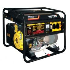 Huter DY6500LX Бензиновый генератор (5 кВт, электростартер)